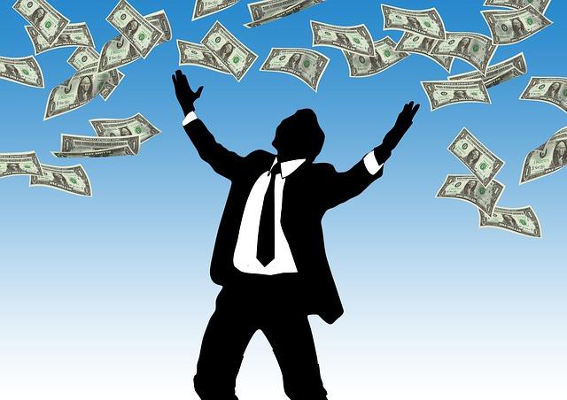 házení s penězmi