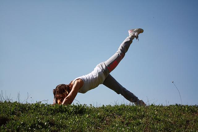 pozice jógy