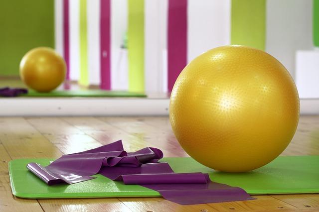balon na cvičení