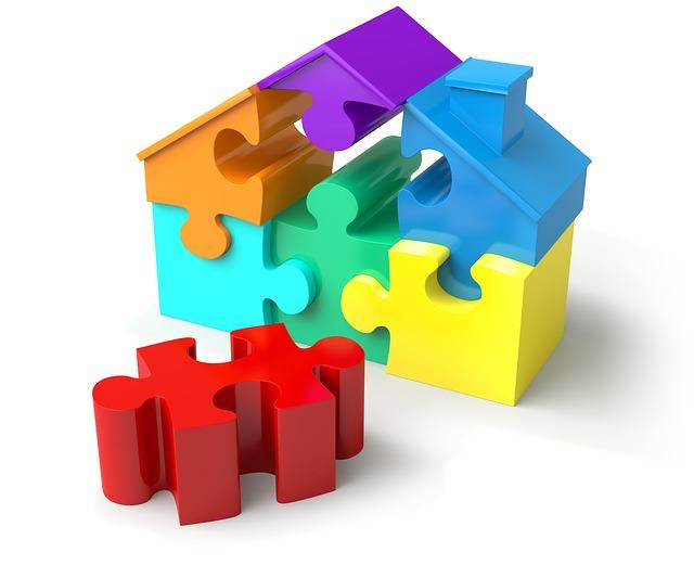 dům puzzle
