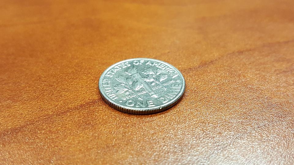 mince desetník